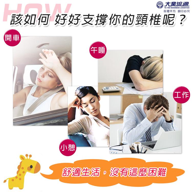 【頑皮家族】療癒U型枕 瞌睡枕 午安枕 靠枕 頸枕