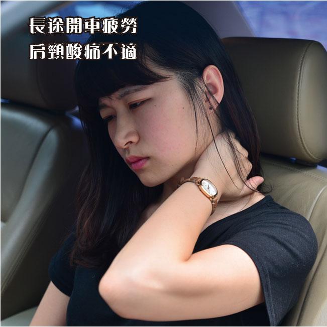 安伯特 車用超大安全帶好眠枕