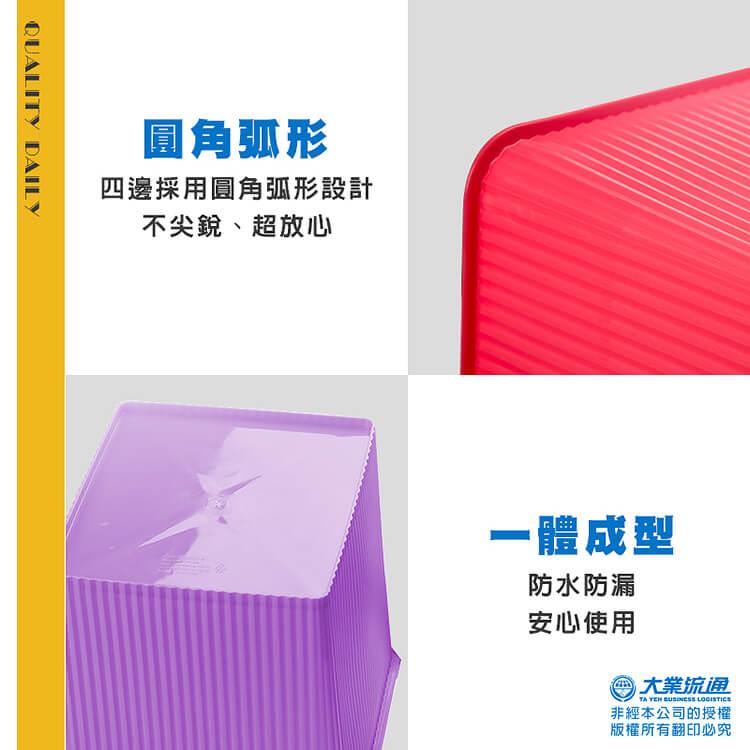 馬卡龍多功能收納桶(顏色隨機)水桶 用品收納 水管置放孔