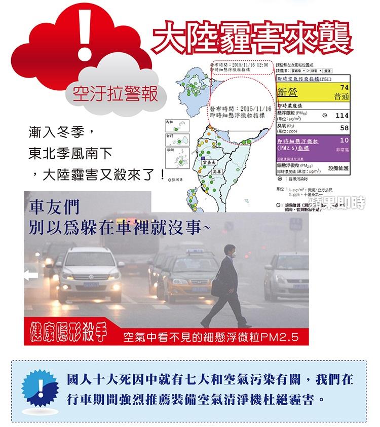SELVA汽車空氣清淨機-負離子/臭氧殺菌/多國專利(ABT390)